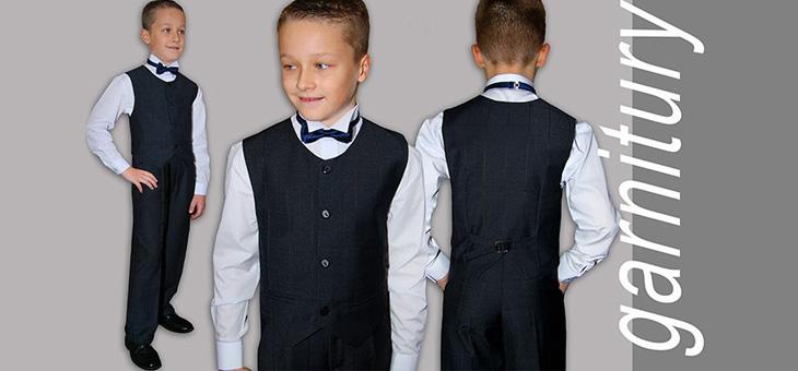 Jaki garnitur dla chłopca na I Komunię Świętą?